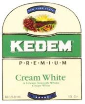 Kedem Cream White 750ml - Case of 12